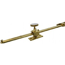 Brass Screw Down Casement Stay